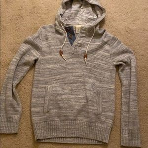 H&M Heather Gray Men's Sweater Pullover